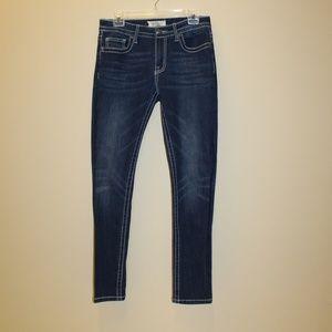 VGS Women size 6 Jeans Skinny Demin